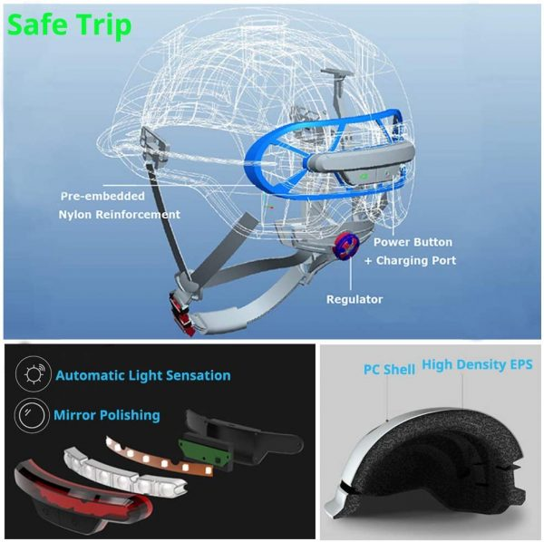 smart4u smart bike helmet