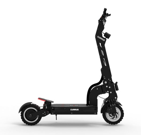 black currus panther electric scooter